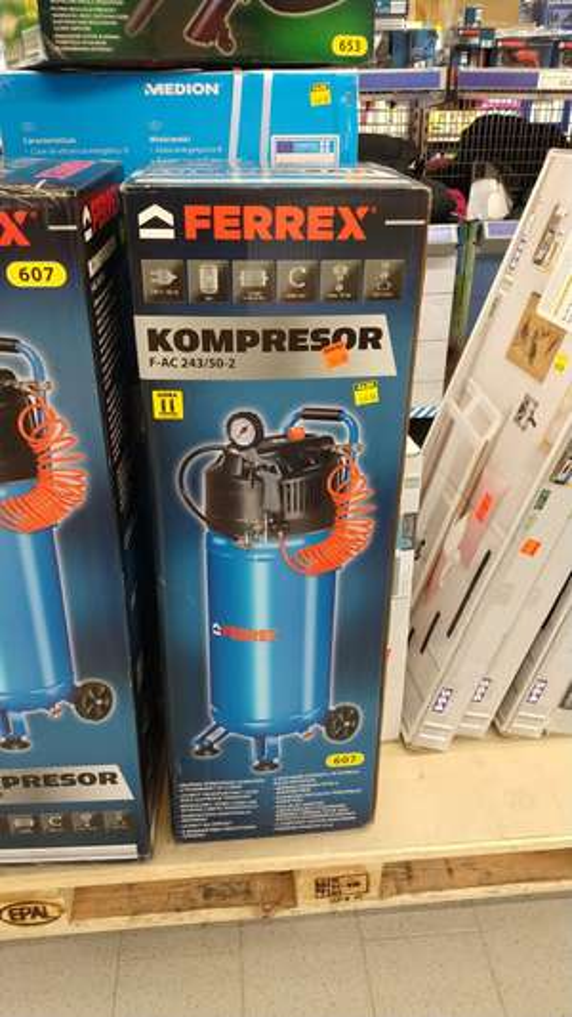 Kompresor 50l Aldi Gliwice