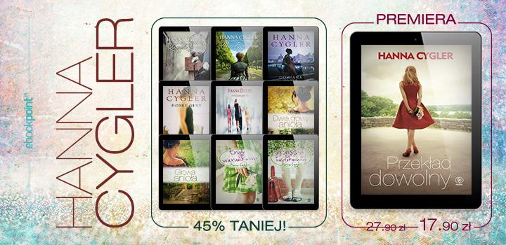 Hanna Cygler - tydzień autora @ ebookpoint.pl
