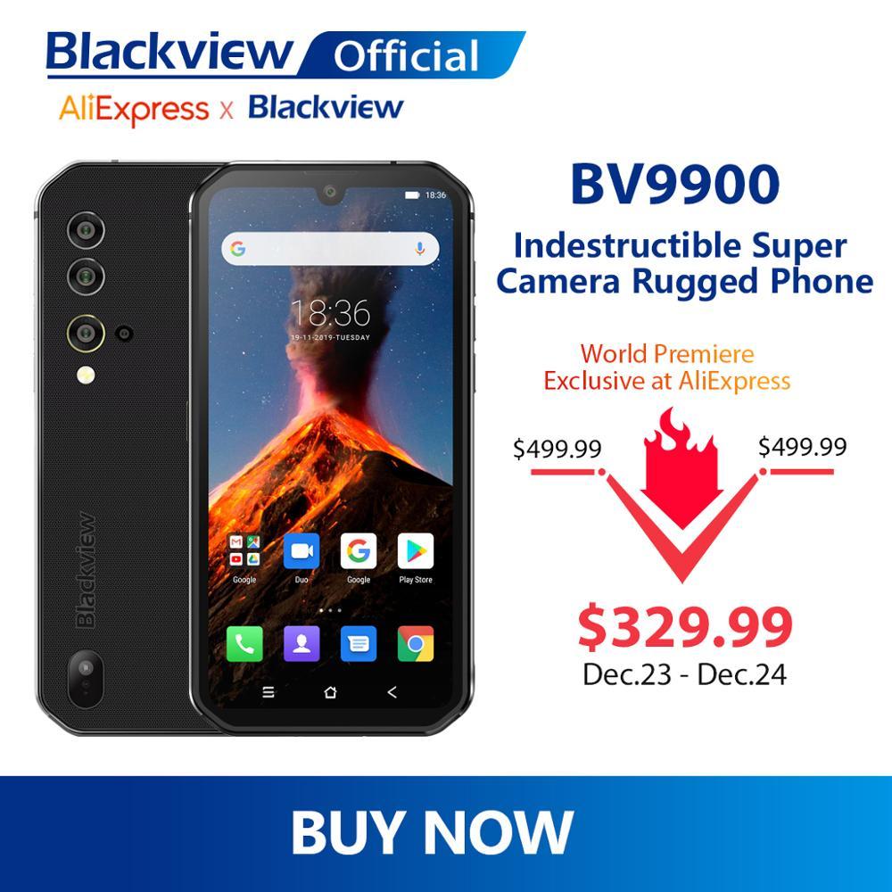 Telefon Blackview BV9900 8/256GB, 48MP (w cenę wliczony ew. VAT) @AliExpress