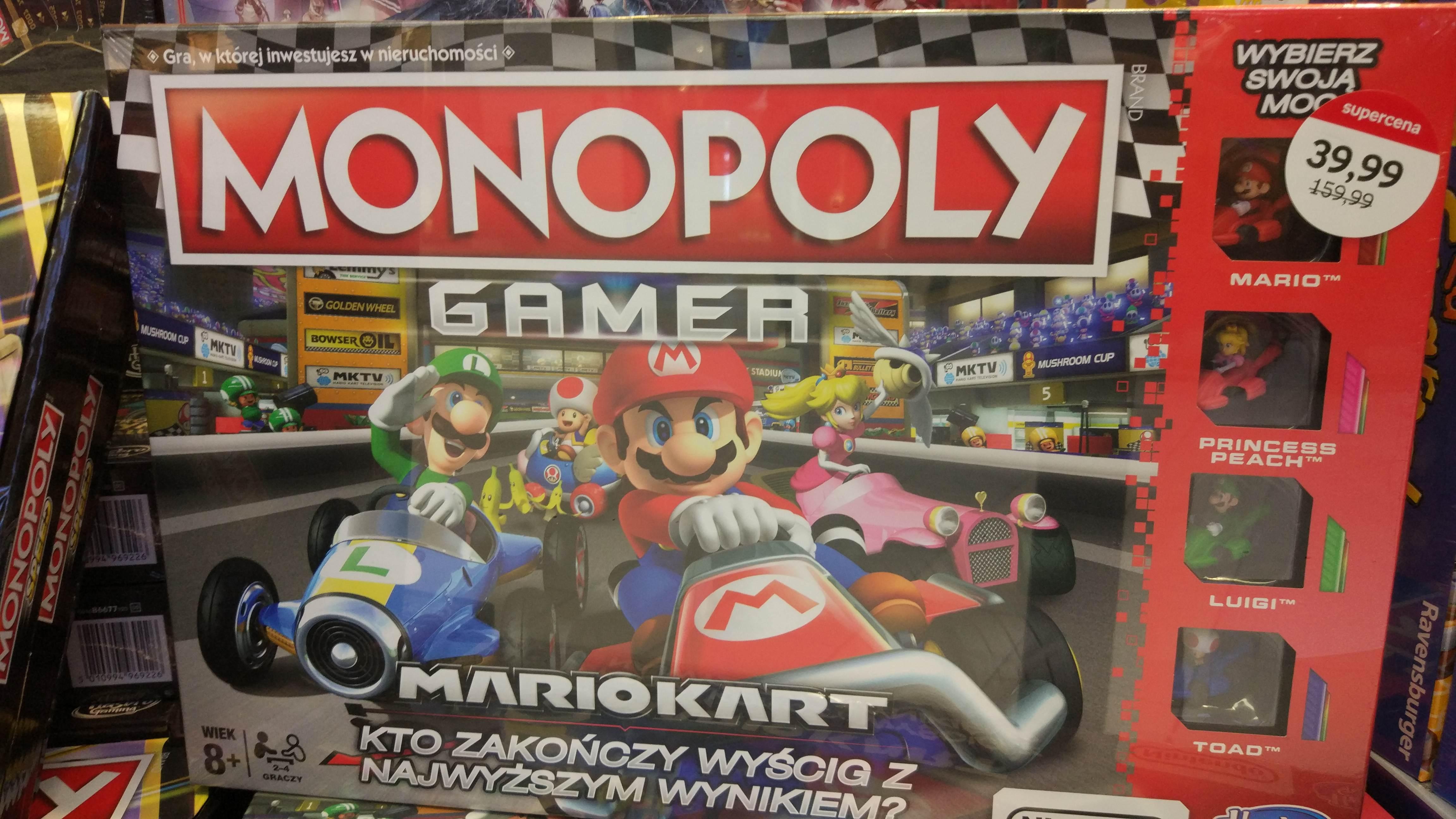Monopoly Gamer Mariokart Empik stacjonarnie