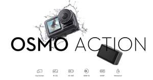Kamera sportowa Dji Osmo Action + Charging Kit + CareRefresh