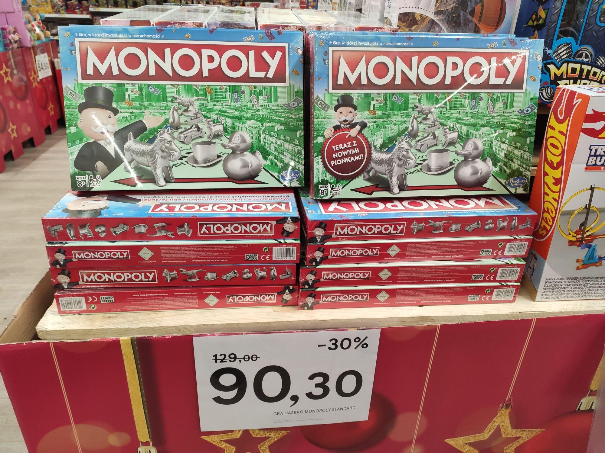 Gra Monopoly Standard -50% Tesco Bydgoszcz
