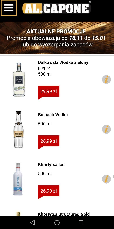 Wódka BULBASH 6 Premium Pure Malt 0.5 dostępna w ALCAPONE