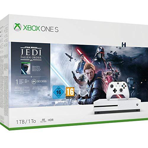 Xbox One S 1TB + Star Wars Jedi