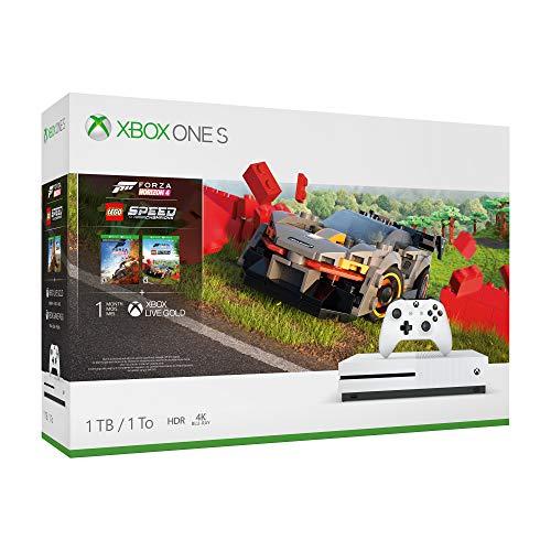 Xbox One S + Forza Horizon 4 + Lego Speed Champions + 1 miesiąc Xbox Live Gold