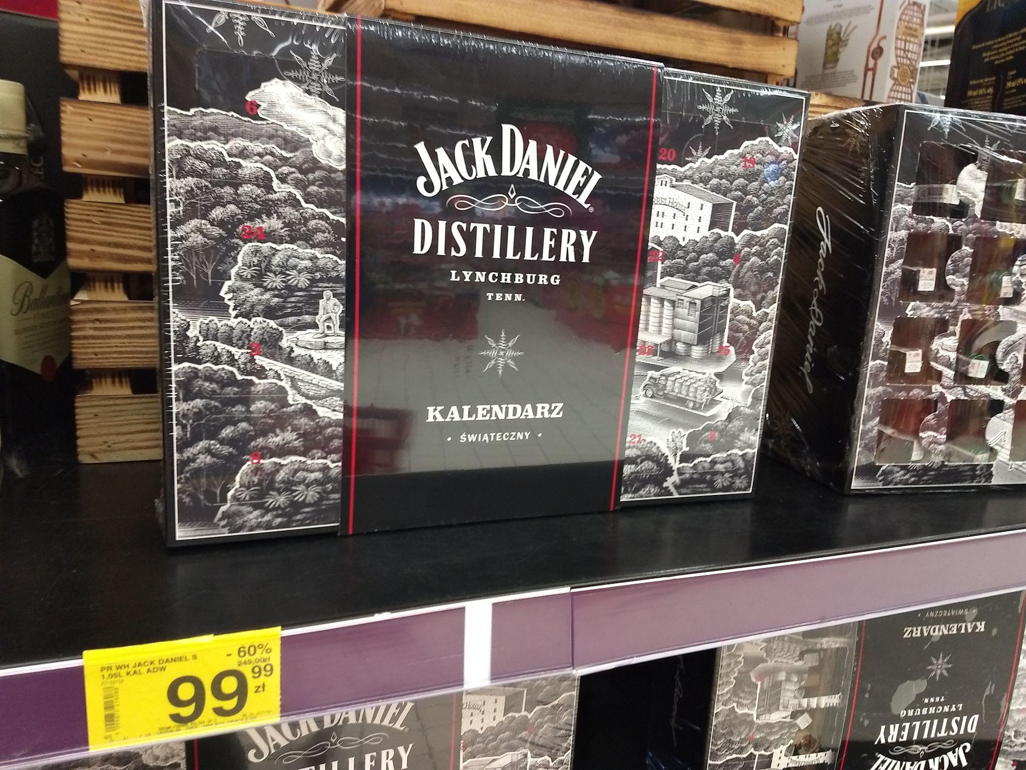 Kalendarz adwentowy Jack Daniels - Kraków Carrefour
