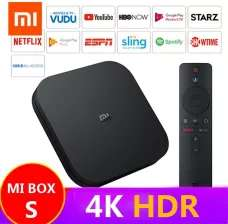 Xiaomi Mi TV BOX S (4K, smart TV, Netflix, Amazon Prime, HBO)