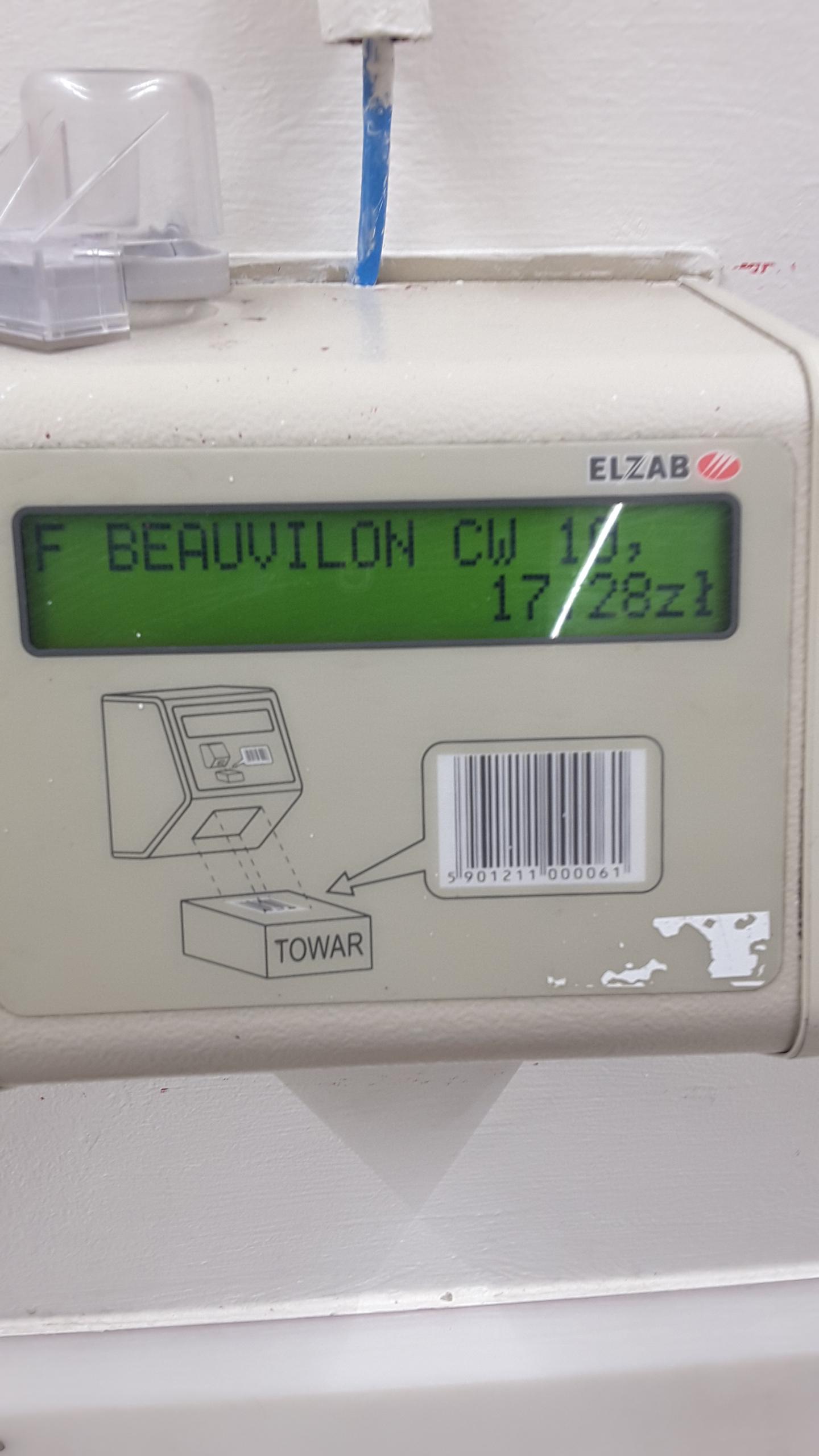 Francuskie wino Beauvilon 3 L w Auchan - BŁĄD CENOWY