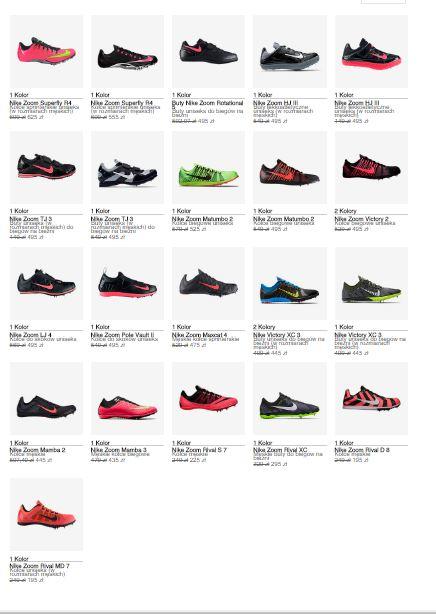 Ponad 50% taniej - 21 modeli butów sportowych @ Nike