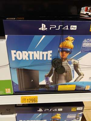 Sony PS4 Pro 1TB + FORTNITE