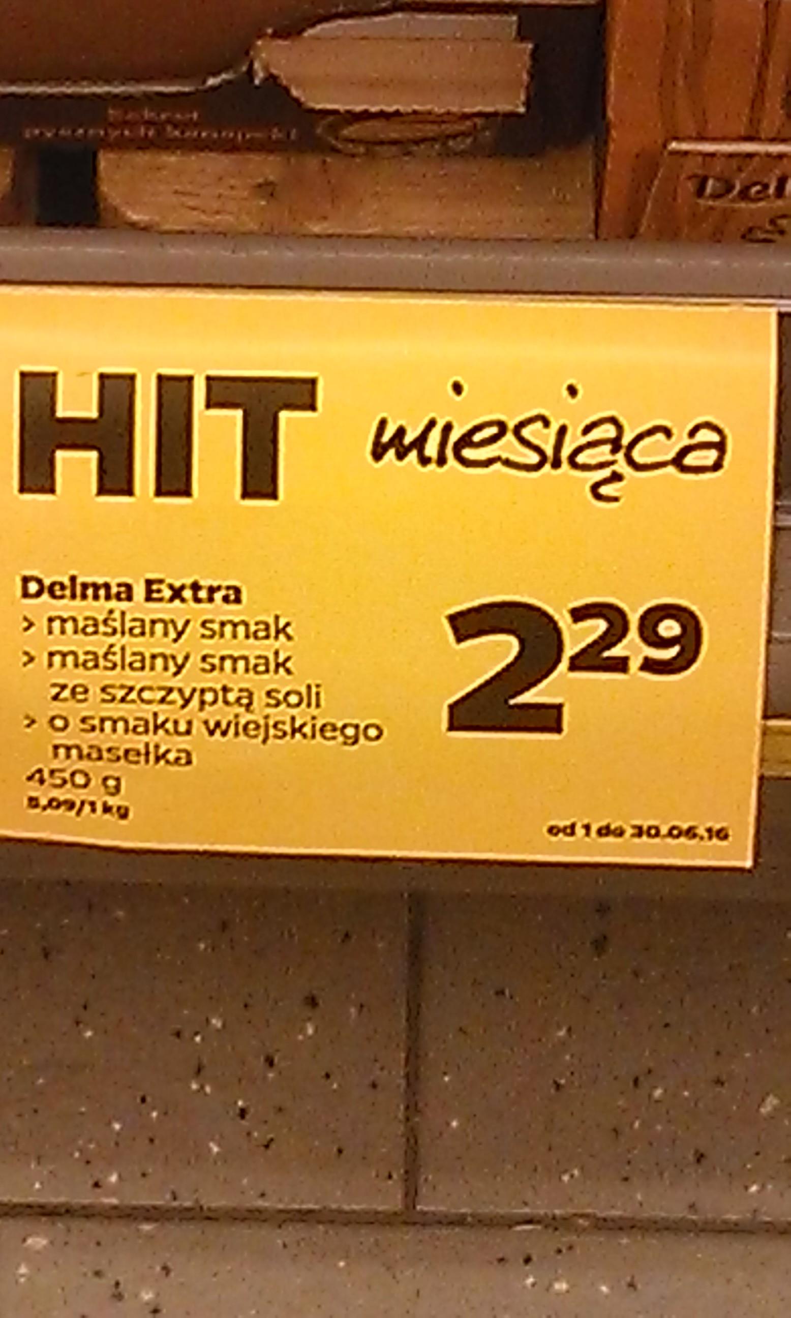 Delma 450g, 2,29zł - Netto