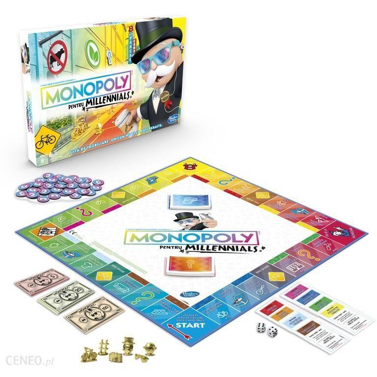Monopoly dla milenialsów E4989 @Muve.pl