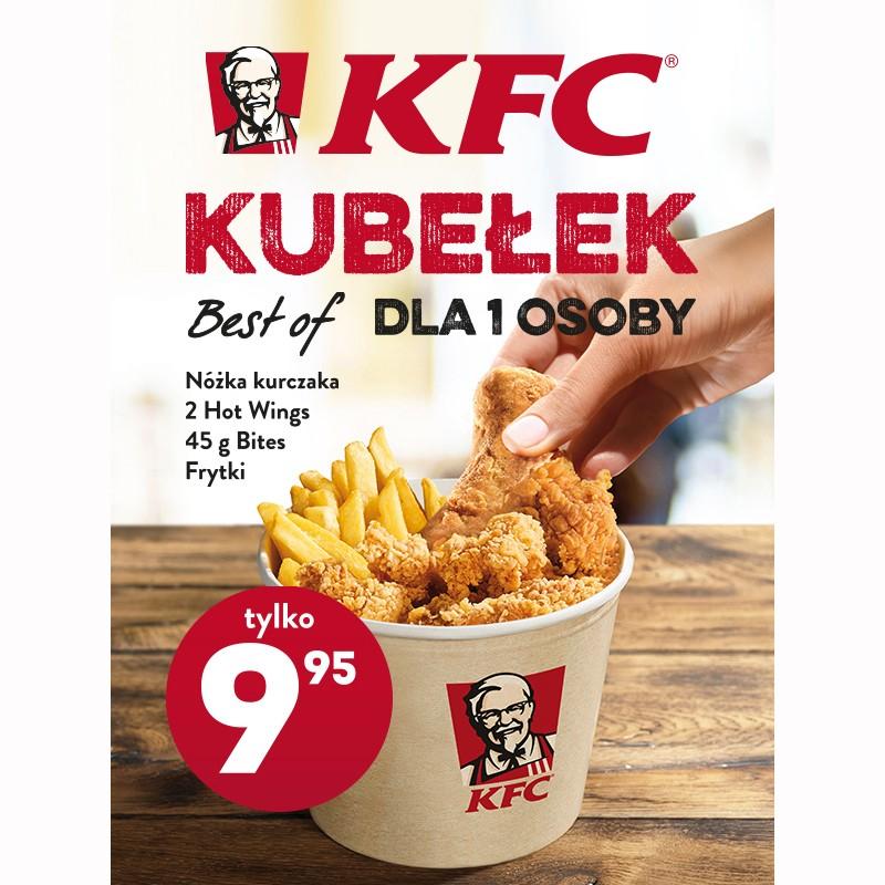 Kubełek dla jednej osoby za 9,95zł @ KFC