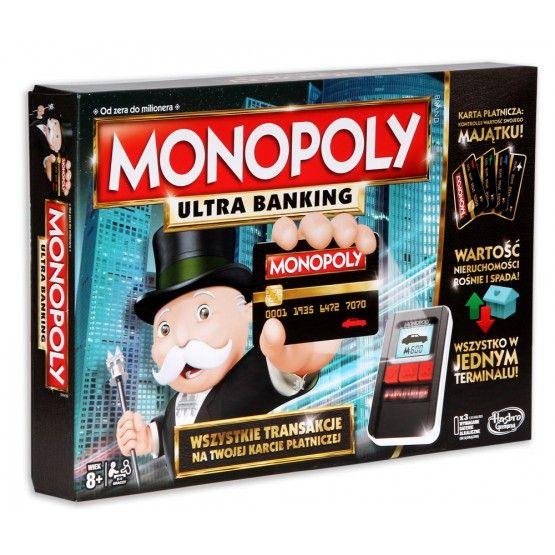 Gra Monopoly: Ultra banking z terminalem kart płatniczych na @Livro.pl