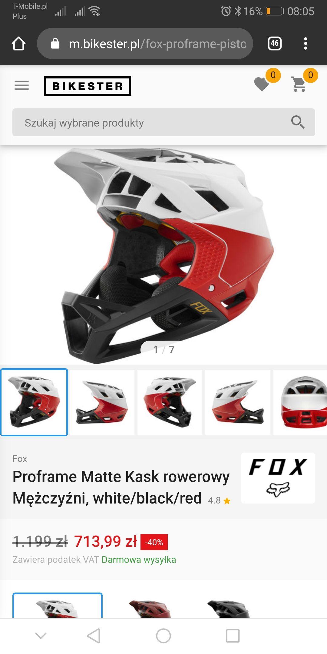 Fox Proframe kask enduro/fr/dh