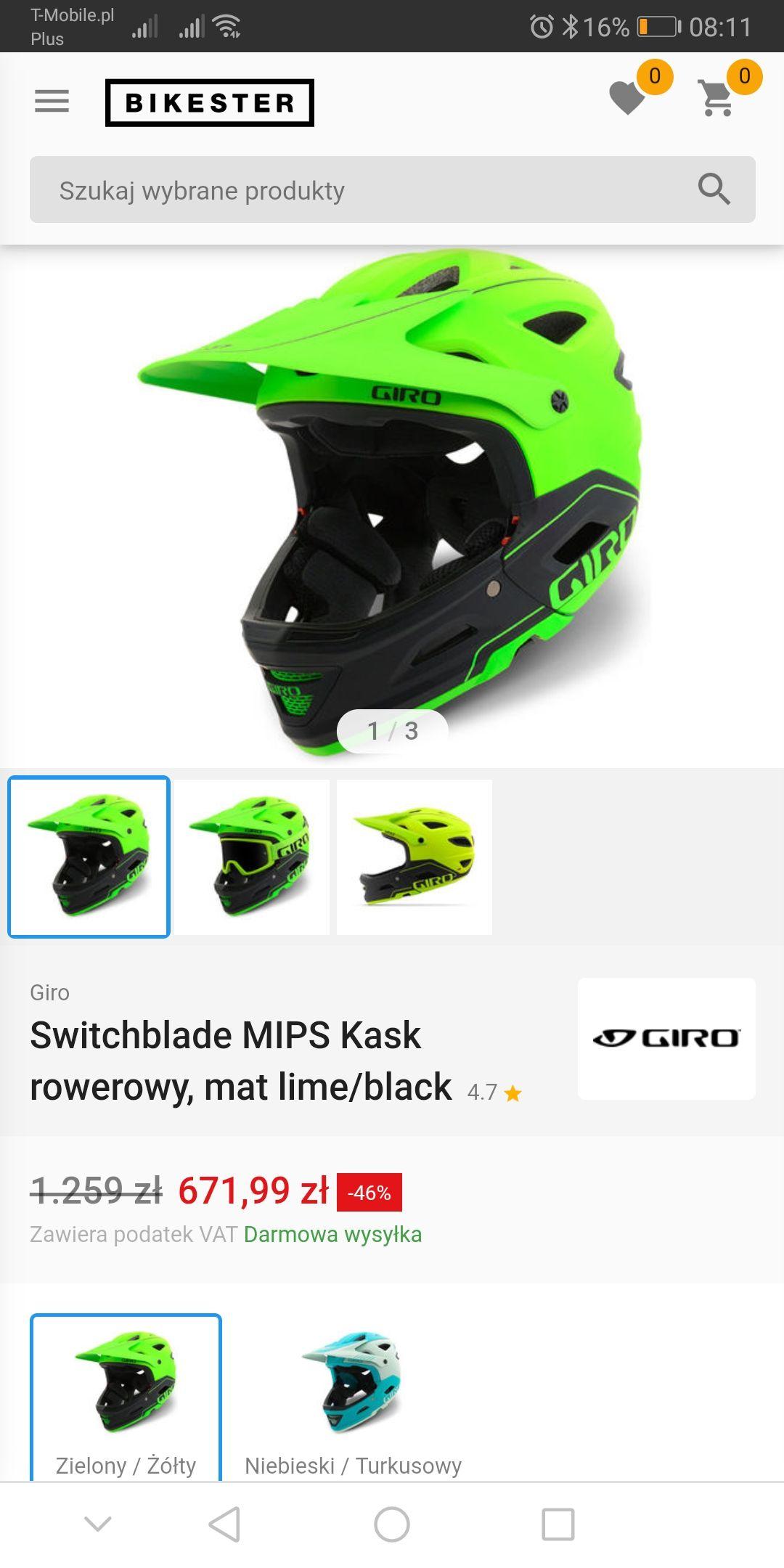 Kask enduro/fr Giro Switchblade Mips 2 w 1