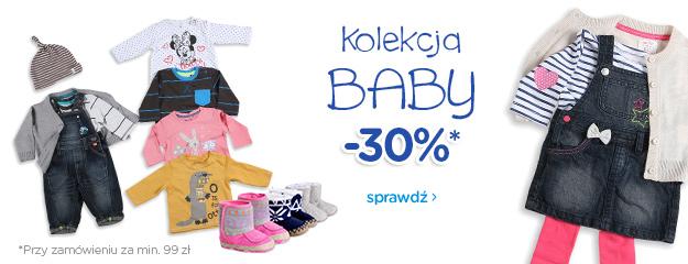 30% rabatu na kolekcję niemowlęcą @ Smyk