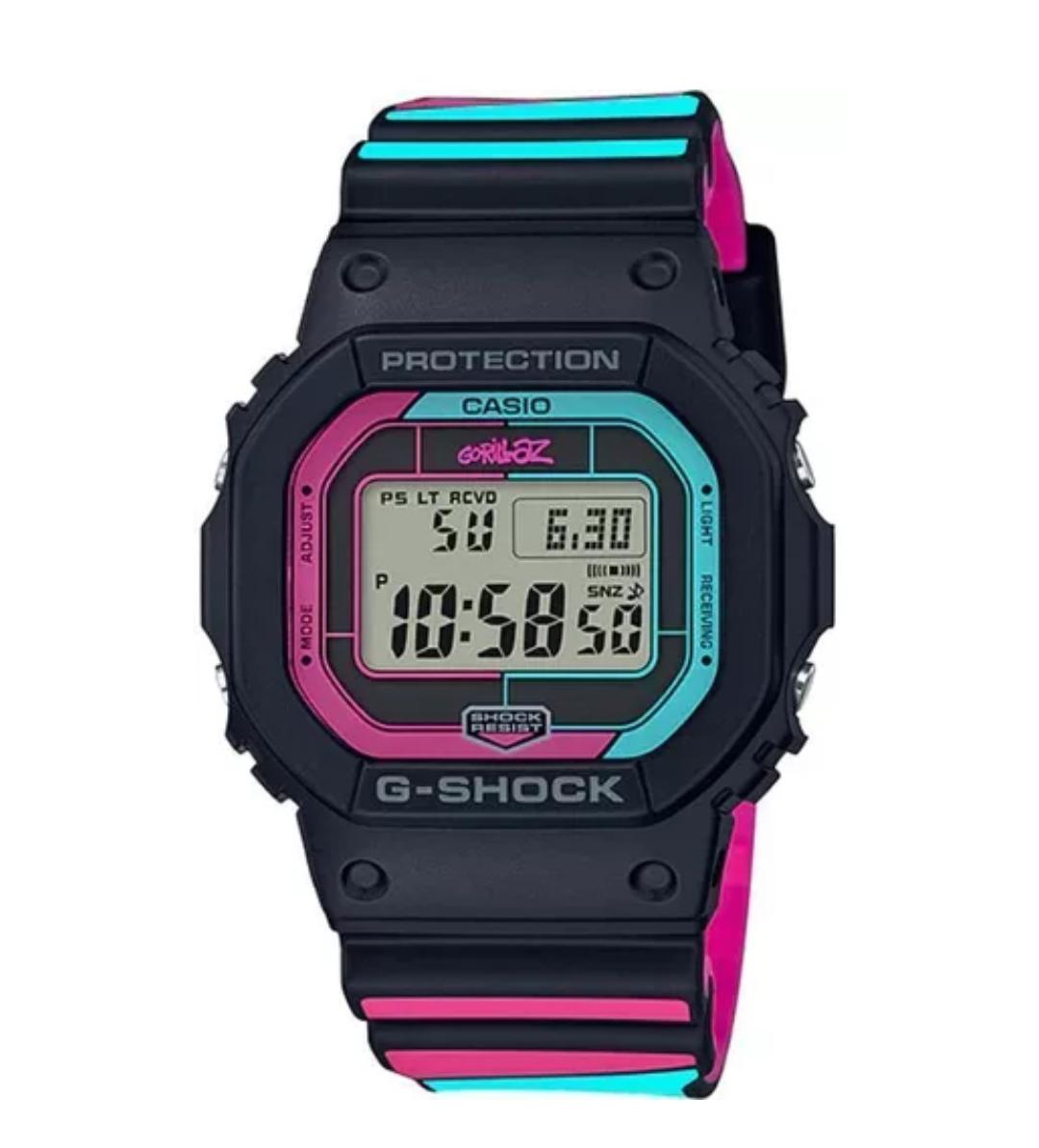 Zegarek męski Casio G-Shock GW-B5600GZ-1ER GORILLAZ