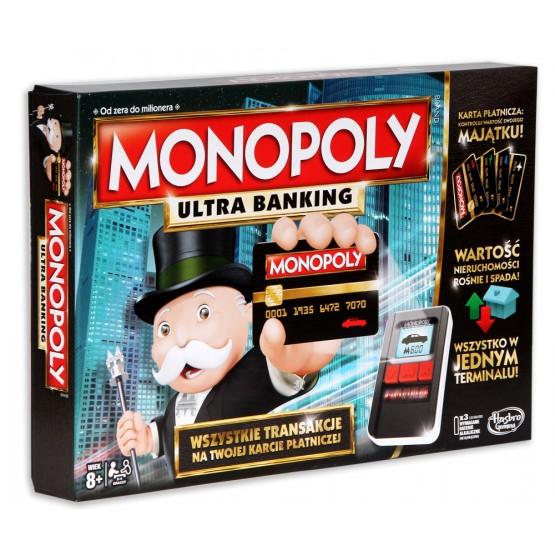 Gra Monopoly: Ultra banking z terminalem
