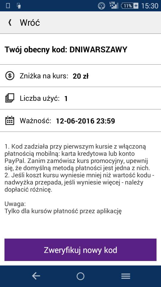 Kupon 20 zł i taxi