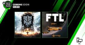 Xbox Game Pass na PC, Frostpunk i FTL: Faster Than Light