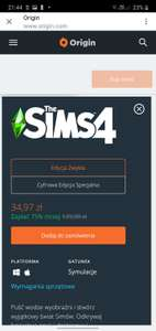 The Sims 4 -75%