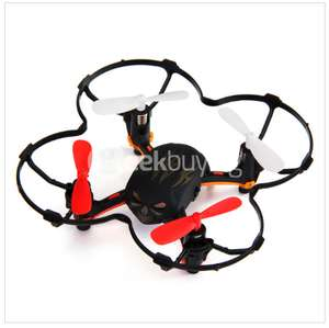 Global Drone GW008 Mini Skull 2.4G 4CH 6Axis Automatic Parallel System 3D Rolling RC Quadcopter - Black