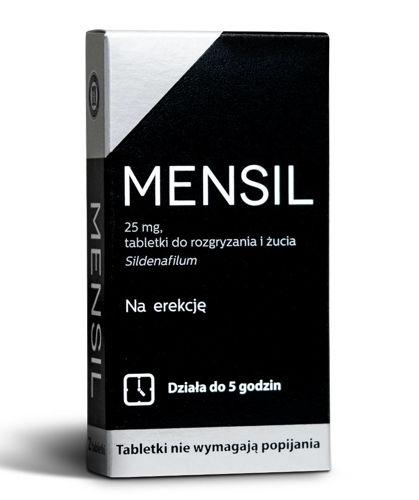 Mensil 4 tabletki na potencje, cena za 4 opakowania