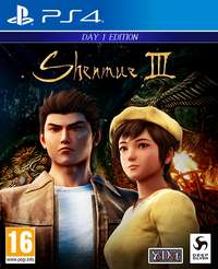 3kropki.pl Shenmue 3 Day 1 Edition + Steelbook PS4 Playstation 4.