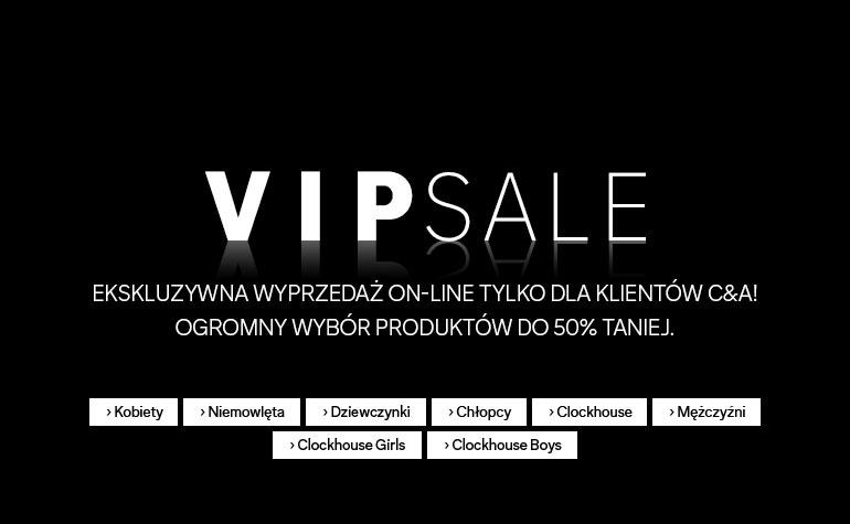 Wyprzedaż do -50% taniej (VIP Sale) @ C&A