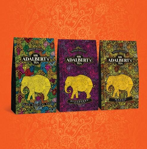 Herbaty Sir Adalbert's 100g (różne rodzaje) [Biedronka]