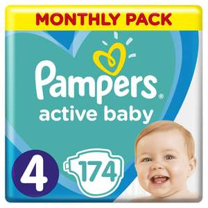 Pampers Active Baby MTH 4 Maxi 174szt eMAG