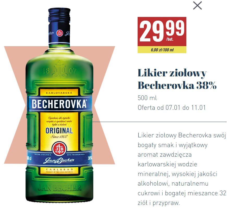 Likier Becherovka 500ml @ Biedronka