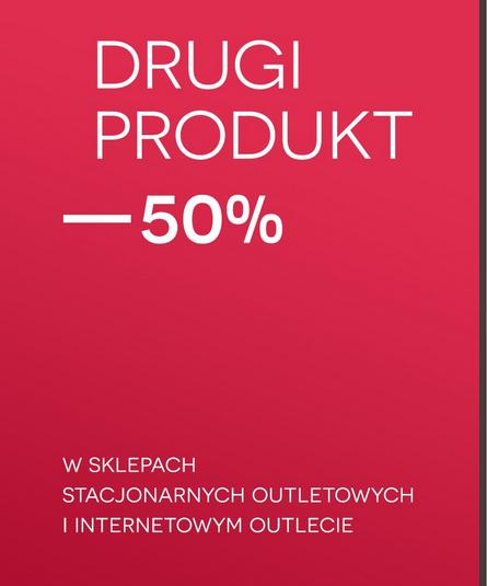 Drugi produkt taniej o 50% @ Bytom