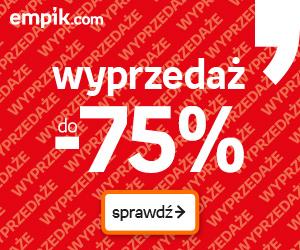 Wyprzedaż do -75%