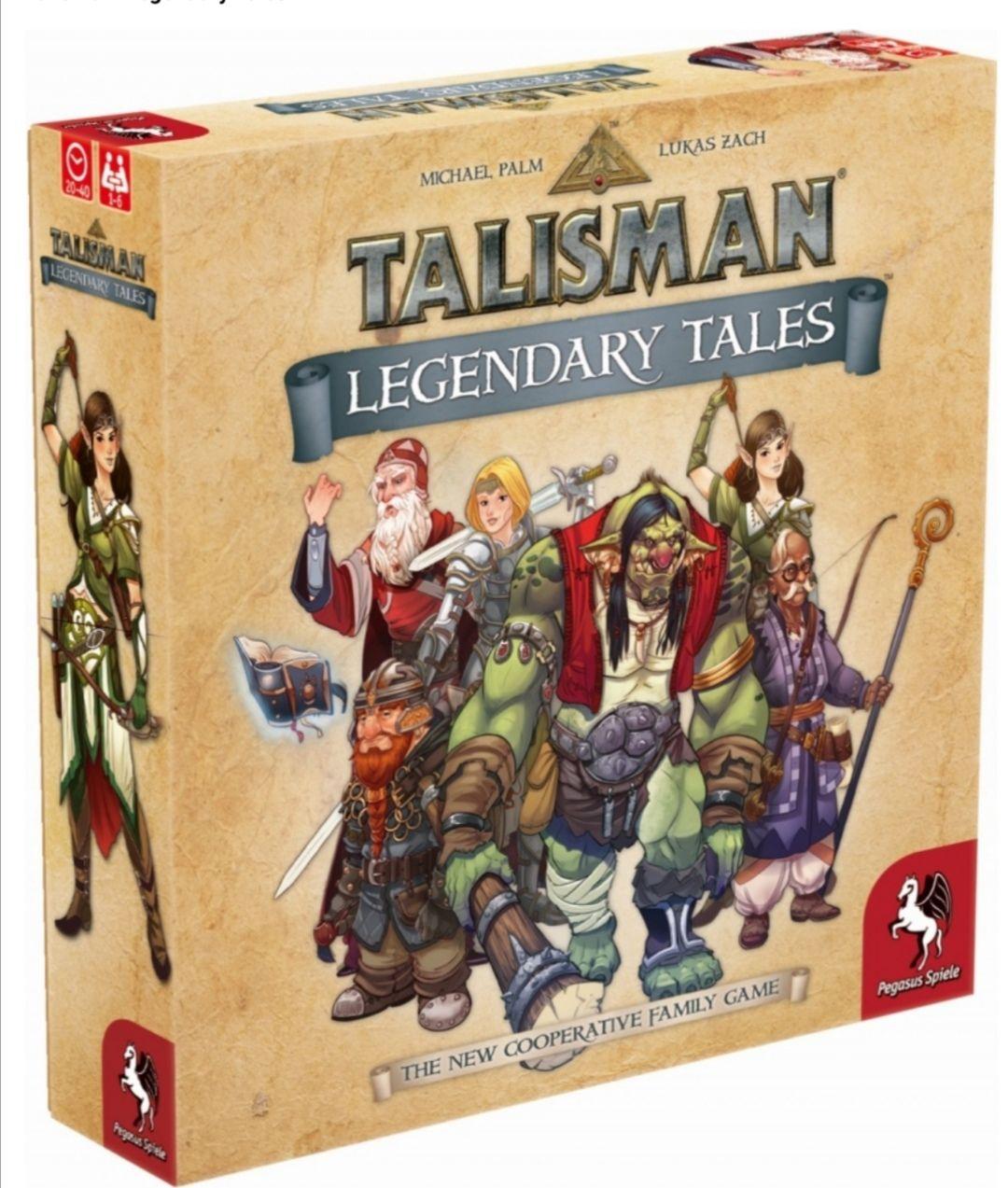 Gra planszowa Talisman: Legendary Tales, Rebel.pl