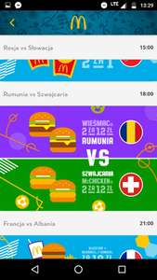 2x Wieśmac i 2x McChicken za 12 zł tylko dziś w McDonald's