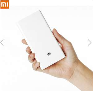 Original Xiaomi 20000mAh DC5.1V 3.6A Dual USB Output Fast Charge Powerbank