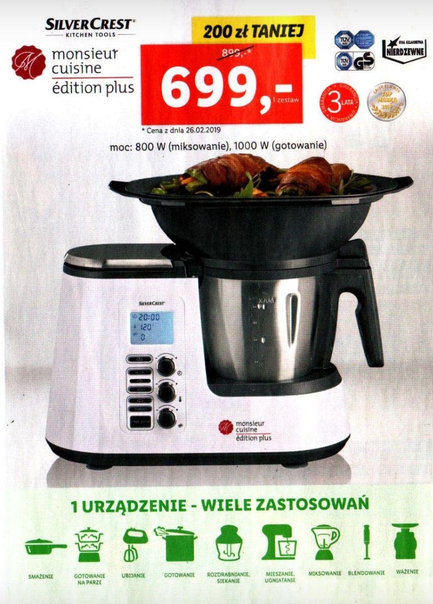 Monsieur cuisine edition plus@Lidl