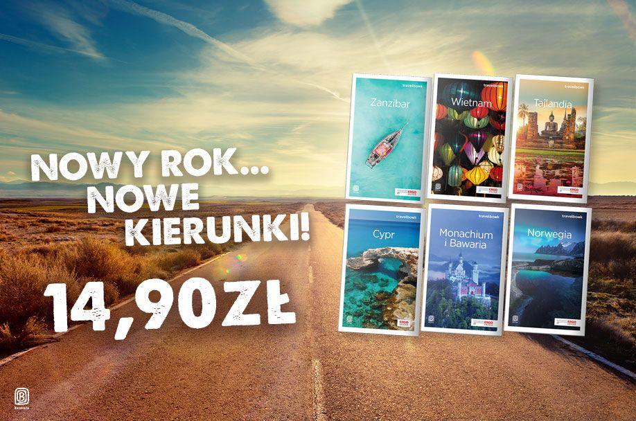 Travelbooki - przewodniki po 14,90 zł