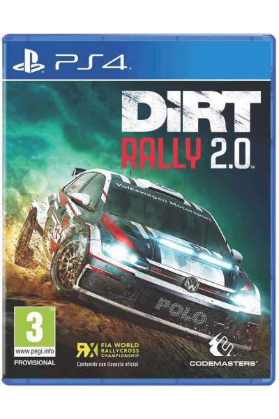 Dirt Rally 2.0 PL + nakładki na analogi