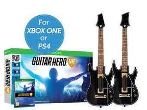 Guitar Hero Live + 2 gitary (XONE & PS4)