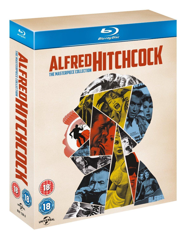 Alfred Hitchcock - The Masterpiece Collection (Blu-Ray) za ok. 160zł @ Amazon.uk