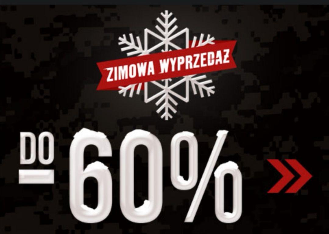 Wyprzedaże zimowe do 60%