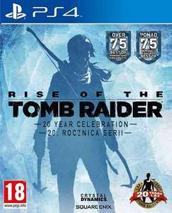 RISE OF THE TOMB RAIDER PL DUBBING PS4