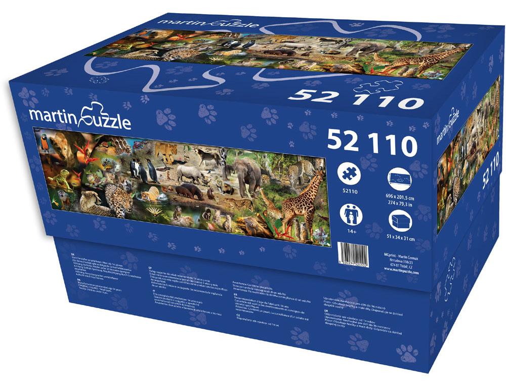 Puzzle 52110 elementów!!!