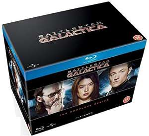 Battlestar Galactica - The Complete Serier (20 płyt Blu-Ray) ENG @Amazon