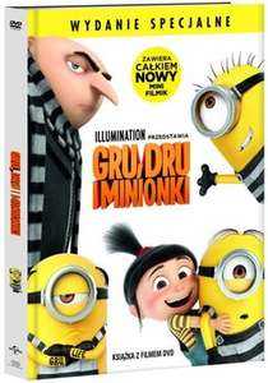 Gru, Dru i Minionki (wydanie książkowe) (DVD) -3,99 @Empik
