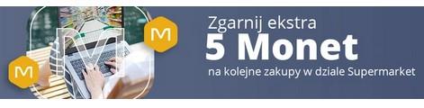 +5 monet allegro w kategorii Supermarket