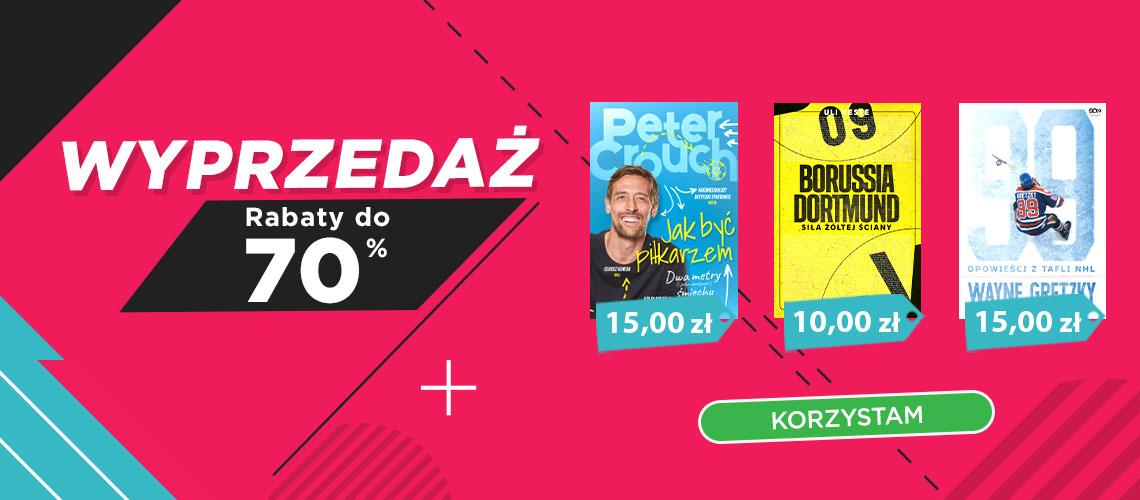 Wyprzedaż książek sportowych na labotiga.pl